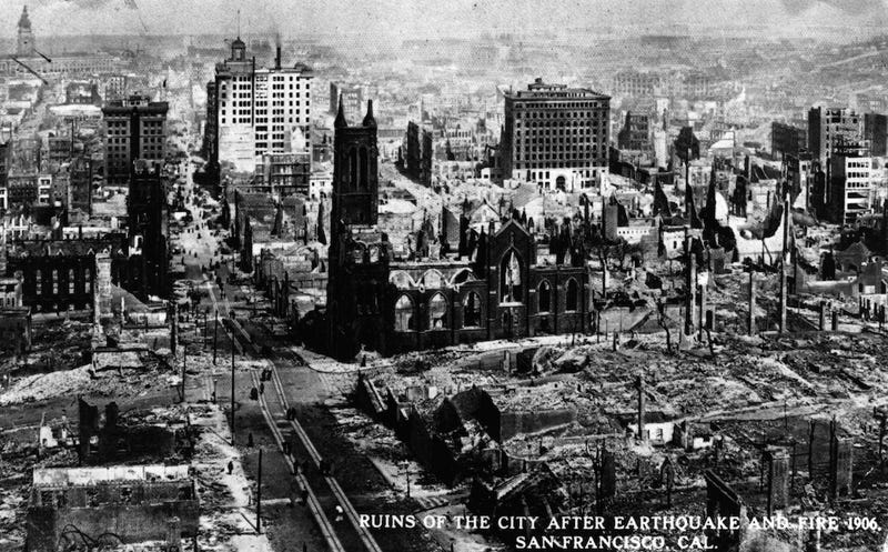 Tragic Photographs of Disasters that Occurred Before 1920