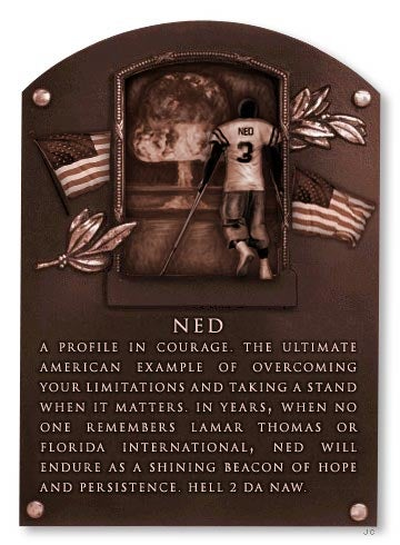 Hall Of Fame Inductee: Ned