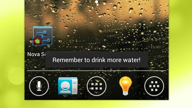 Toastr Gives You Small, Unobtrusive Popup Reminders Every Time You Unlock Your Phone