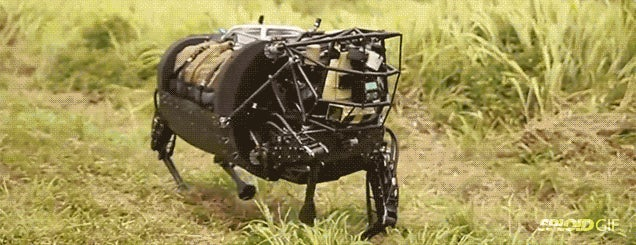 Robot horse gets first taste of real-world action with the US Marines
