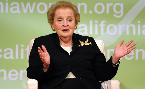 Women's Conference 2008: Madeline Albright