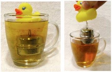 Turn a Rubber Ducky into a Tool for Tea
