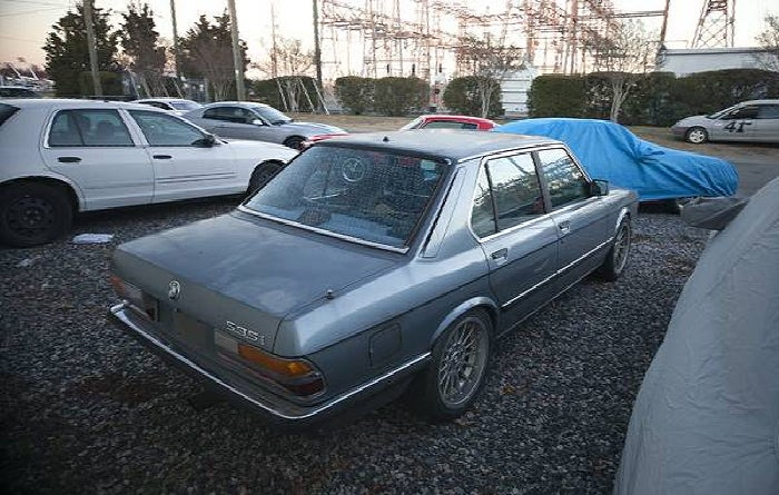 For $4,500, Euro Gonna' Like This E28