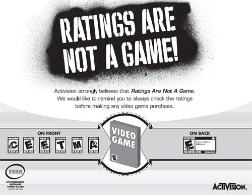 "Survey: 82% Of ""Gamer"" Parents Are Hip To The ESRB"