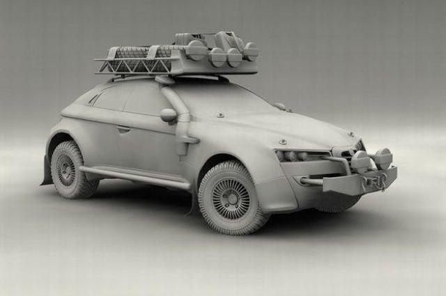 Alfa Romeo Brera Dakar model gallery
