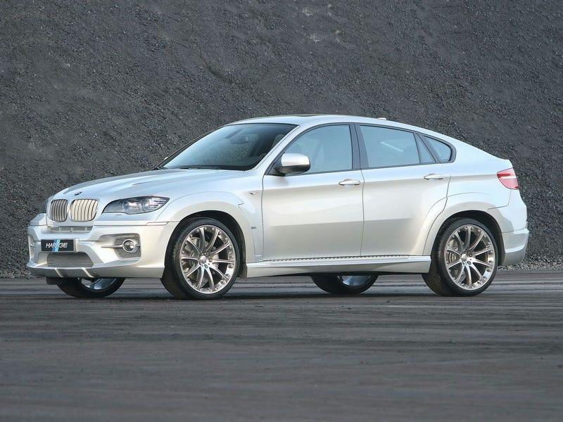 Hartge BMW X6 Does Diesel Performance, Horrific Body Kit