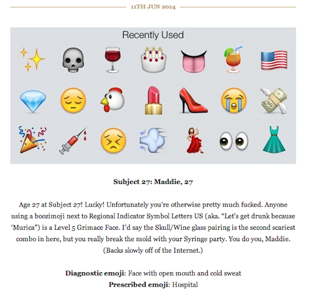 New Tumblr Will Psychoanalyze Your Favorite Emojis