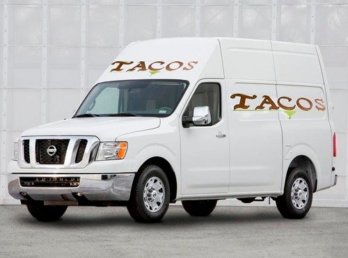 Nissan NV Commercial Van: The Perfect Taco Truck