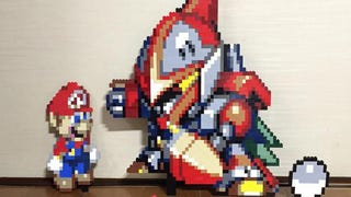 LEGO Is Perfect for Remaking Game Sprites