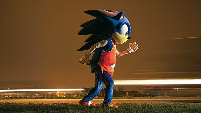 Sonic, You're Not As Fast As You Used To Be