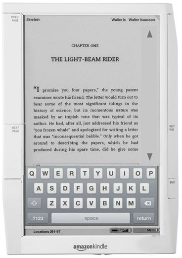 A Larger, Touchscreen Kindle 3 Coming This Year?