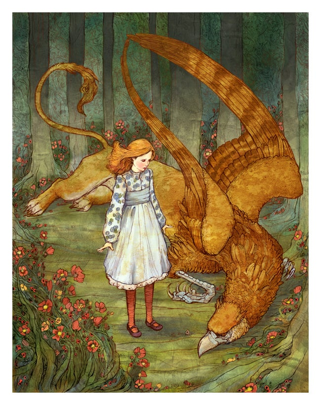 Amazing Fairy Tale Art from a Biology PhD