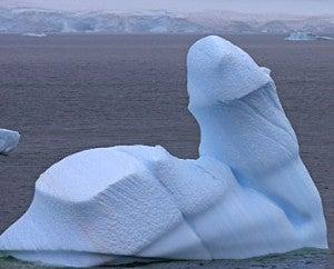 Ice Penis Grows (Shows) In The Antarctic • Hugh Hefner...Feminist Symbol?