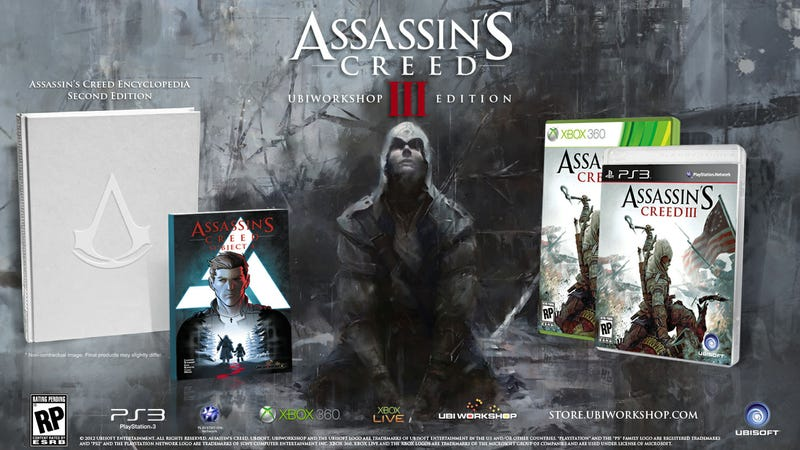 The Ubiworkshop Edition of Assassin's Creed III is an Excellent Way to Spend a Benjamin