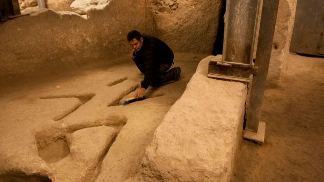 Experts Are Baffled by These Mysterious Ancient Markings Found In Jerusalem
