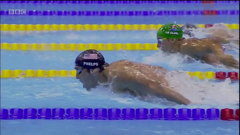 Michael Phelps Somehow Managed To Blow A Lead This Big
