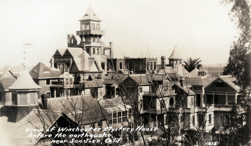 Haunted Winchester Mystery House to Allow Overnight Stays (and Booze)!