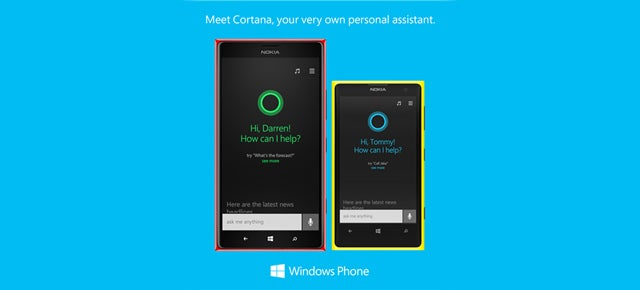Windows Phone 8.1's Cortana Is Google Now Plus Siri