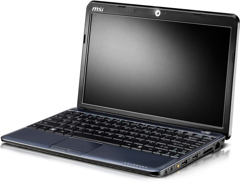 MSI Confirms Wind U150 Netbook with Touchscreen and Intel's Next Atom