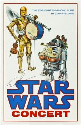 This weirdo Star Wars poster could cost you $8,000