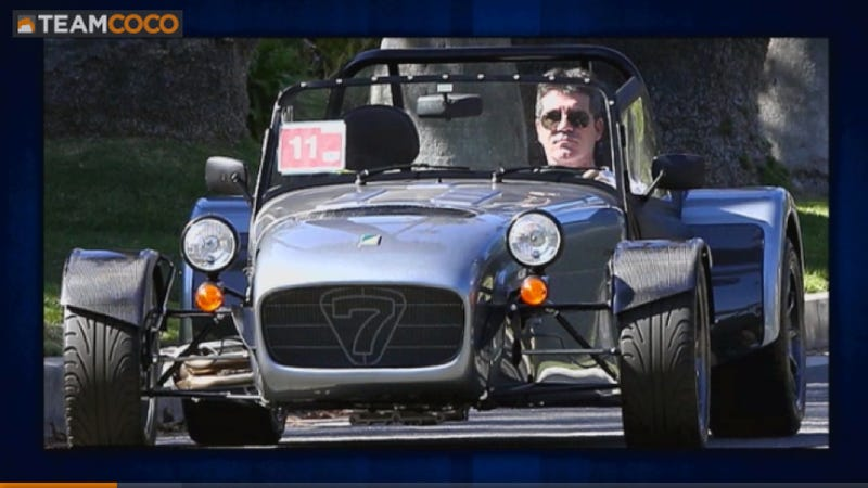 Taurus SHO Owner Conan O'Brien Unimpressed With Simon Cowell's Bugatti