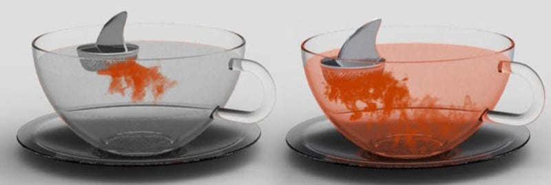 Shark Tea Infuser Brews a Watery Earl Grave