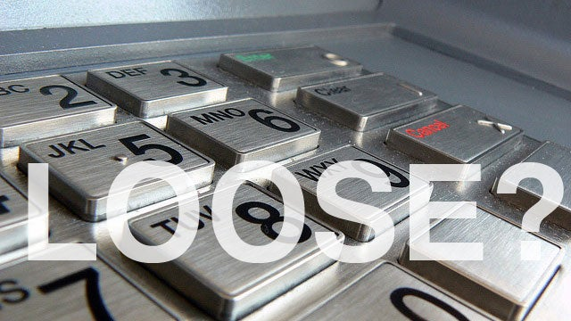 Check for Loose Equipment on ATMs to Quickly and Easily Find Card Skimmers