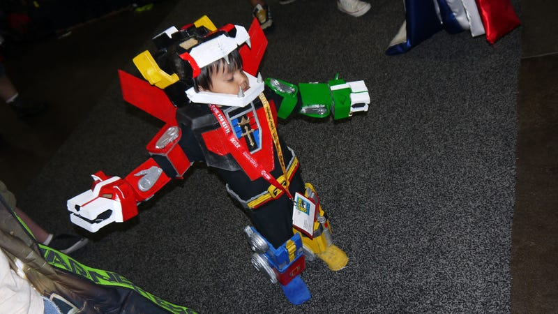The Comic-Con D'Awww of the Day: Let's Go Voltron Force