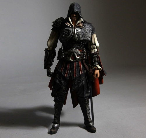 Assassin's Creed II Action Figures Emerge From The Crowd