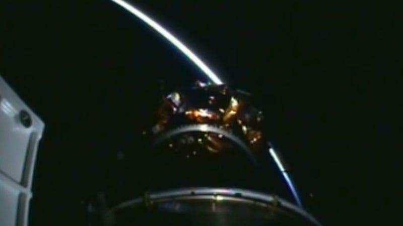 NASA Video Shows Landsat Successful Separation from Rocket