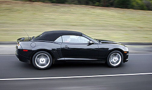 2011 Chevy Camaro Convertible Gets Launch Date