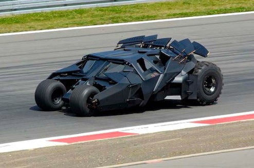 Batmobile To Lap Silverstone Alongside Toyota F1 Car