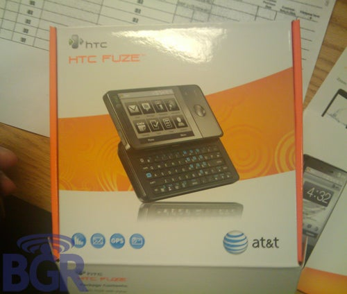 HTC Fuze (Touch Pro) Heading to AT&T Stores