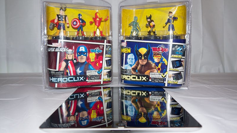 Apps Plus Toys: HeroClix TabApp Marvel Super Heroes