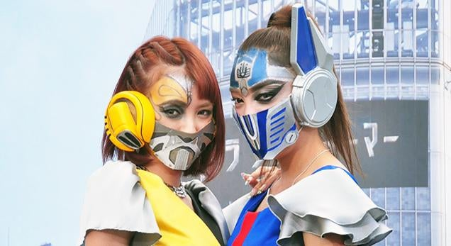 Who Knew Surgical Masks Made Awesome Transformers Cosplay?