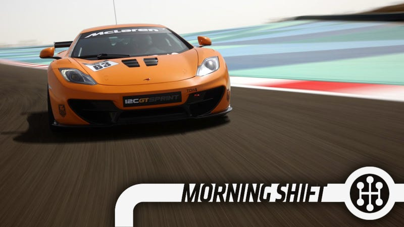 The McLaren 12C GT Sprint Is A Track-Only Attack Fighter