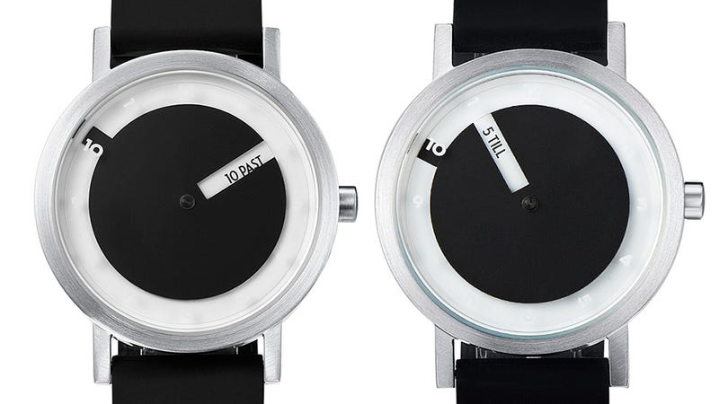 A Watch That Tells Time In Plain Ol' English