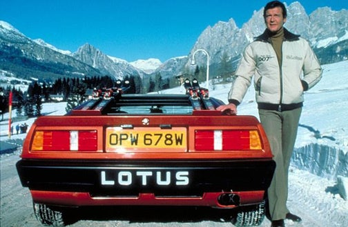 James Bond's Lotus Esprit Turbo Goes Under The Hammer, Again