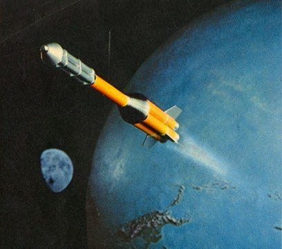 Space Travel Predictions from Look Magazine, 1957