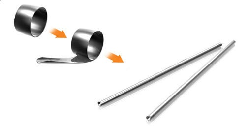 Chopsticks Roll Into Rings and Straws and...Well, That's Actually It