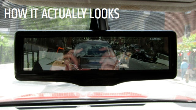 Nissan's LCD Rearview Mirror Proves Not Everything Needs To Be Digital