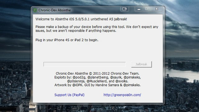Untethered Jailbreak for iPhone 4S and iPad 2 Now Available for Windows