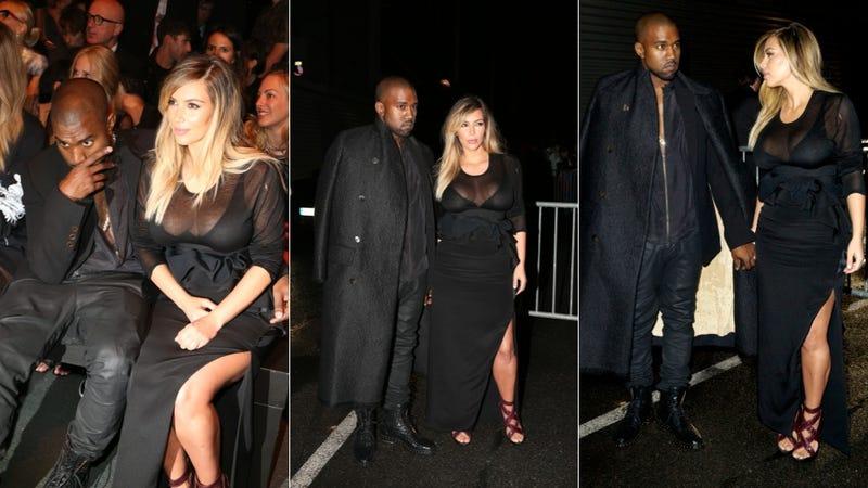 Kim Kardashian Hits Paris in First Post-Baby Peplum