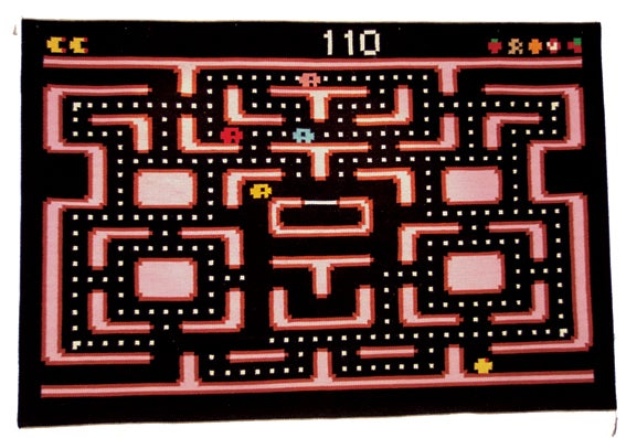 Pac Man Rug Would Suit Wealthy, Old-Skool Gamer