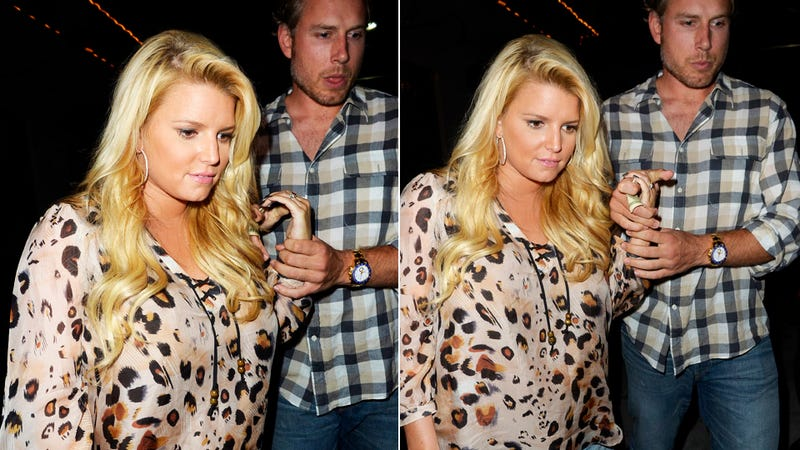 Is Jessica Simpson Actually Pregnant or Is She Just Being Harassed About Her Weight?