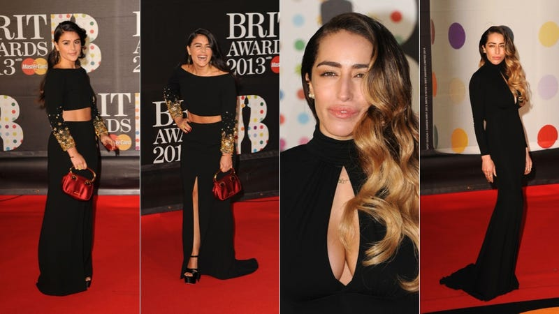 Gowns Were Sexy, Chic and Shitshow Shiny at the Brit Awards