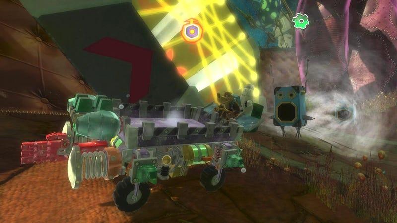 New Banjo Kazooie: Nuts & Bolts Screens