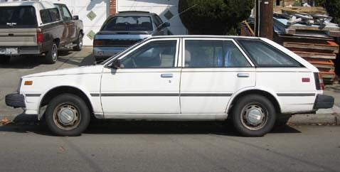 1983 Nissan Sentra Wagon