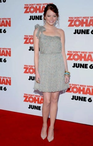 The Zohan Premiere: Starring Everyone You Kinda-Sorta Know, Looking Kinda-Sorta Good