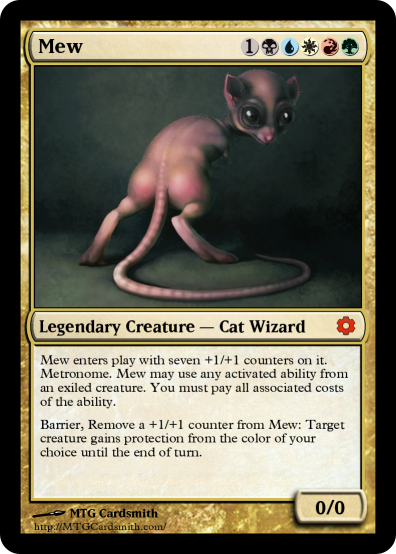 When Pokèmon Meets Magic, Magic Happens